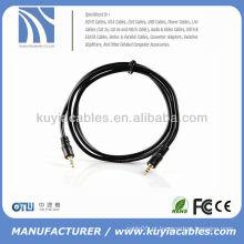 3,5 milímetros macho para macho estéreo cabo de extensão auxiliar de áudio para MP3 / tablet / laptop / celular