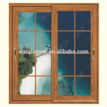 janela de correr de alumínio com design de persianas