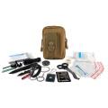 Équipement de camping Kit de survie d'urgence 62 en 1
