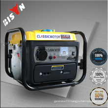 BISON China 950 ce 650w Portable Gasoline Generator With Low Fuel Consumption