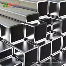 Foshan direct manufacturers stainless steel square tube 1 inch inox 304 profile stainless steel square profile shape
