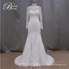 Robes de mariée blanche de qualité supérieure pour les femmes