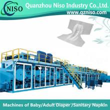 Vollautomatischer Windelmaschinen-Lieferant für Erwachsene in China (CNK300-SV)