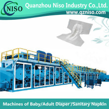 Full-Automatic Adult Diaper Machinery Supplier in China (CNK300-SV)