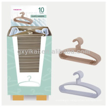 Cheap wholesale plastic clothes hanger