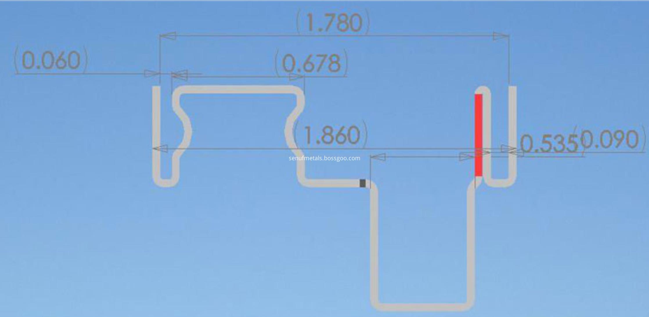 Window Frame Profile Drawings (3)
