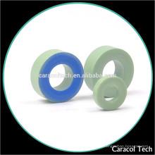 Núcleos toroidales del hierro del imán de la ferrita CT130-52 de la pequeña base con la capa verde
