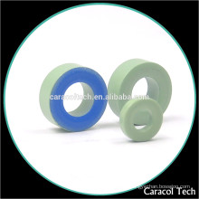 Small Core Loss CT130-52 Ferrite Magnet Toroidal Iron Cores With Green Coating