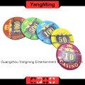 Acryl Poker Chip Set (760 Stück) Ym-Focp003