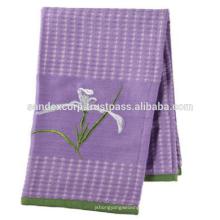 serviettes en coton / lin