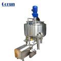 Tanque de mistura líquido de lavagem da indústria, tanque de mistura com agitador, tanque de mistura da pintura