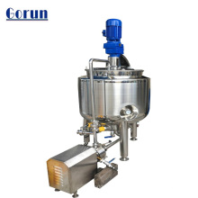 Stainless steel mixing tank liquid sugar processing equipment