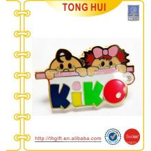 Smart Cartoon KIKO Logo Harte Emaille Pin
