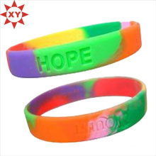 Bottle Price Thick Silicone Bracelet for Summer Camp (XY-MXL73004)
