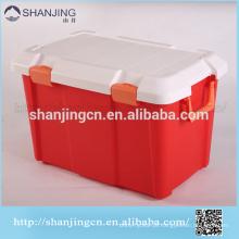 caixa de plástico caixa de armazenamento de plástico com tampa superior / caixa de armazenamento
