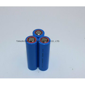 LiFePO4 Battery Cell Ifr 18650 3.2V 1500mAh Meilleure qualité