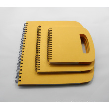 Spiral Binding Notebook/Diary with Die-Cut Handle