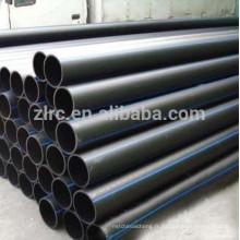 PE100 tuyau de boue minérale PE100 tuyau d'eau PE100 hdpe tuyaux