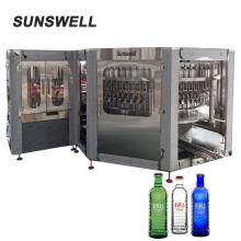 Herstellung von Glasflaschen-Bierfüllmaschine