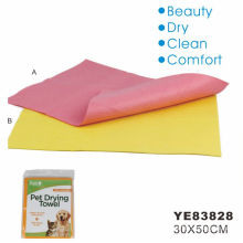 Toalla de lavado de perro de microfibra (ye83828)
