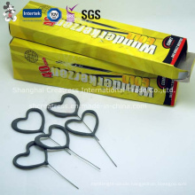 Handheld Heart-Shaped Sparkler for Parties