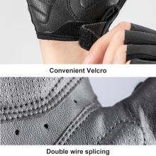Hot Selling Rockbros Color Reflective Half Finger Gloves Bicycle Gloves