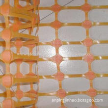 Orange Plastic Safety Warning Netting with Various Colors Available