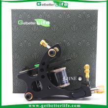 Calidad GBL 10 bobinas de largo tiempo del trazador de líneas del tatuaje máquina de bastidor