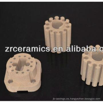Elemento calentador de cerámica de cordierita