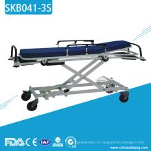 Trole médico do paciente do transporte do metal de SKB041-3S para a venda