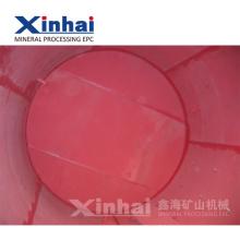 China Hoja de látex natural rojo y forro de goma para la máquina minera