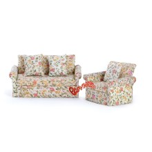 Dollhouse Living Room Sofa Set