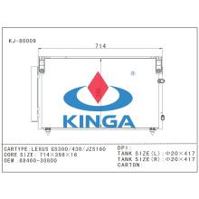 Auto Condensaer Parts for Toyota Lexus Ga300/430/Jzs160