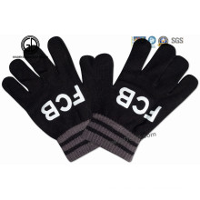 Personalizado de venta caliente acrílico guante de invierno de punto / guante caliente