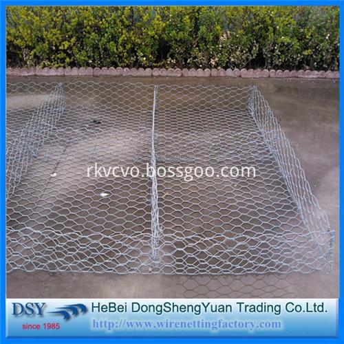 hexagonal mesh gabion box