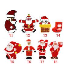 Christmas Santa Claus Shaped USB Flash Drive