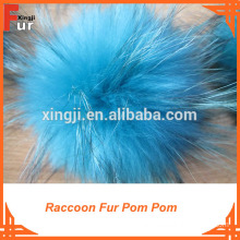 Wholesale Raccoon Fur Pom Pom