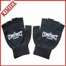 Warm Fingerless Glove / Acrílico malha Jacquard inverno luva