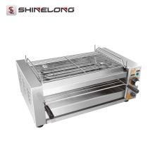 Parrilla rotatoria infrarroja eléctrica portátil comercial multifuncional de la barbacoa