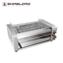 Churrasqueira rotativa de churrasco rotativo elétrico multifuncional comercial multifuncional