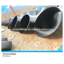 Seamless 90 grados Lr mayor tamaño de acero de carbono Codos