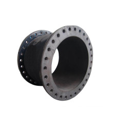 Flexible flanged rubber compensator expansion joint for pipe and building