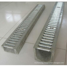Rain Water U-Shape Stamping Polymer Concrete Drainage Channel