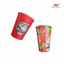 Delicate Paper Cup With 3D Printing For Party