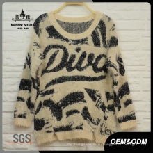 Женская Мода Пуловер Вязать Одежду