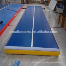Gimnasia barata Air Tumble Track Inflatable deporte Gym Mats en venta