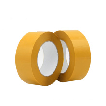 Quality Guaranteed Yellow Non Transparent Adhesive Glue BOPP Material Package Packing Tape