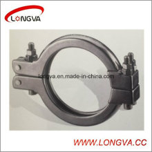 Collier de tuyau sanitaire en acier inoxydable de prix usine