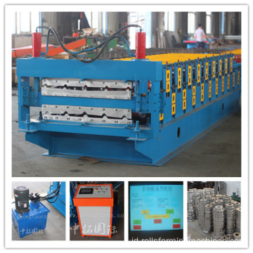 Lembar Atap Tile Roll Forming Machine