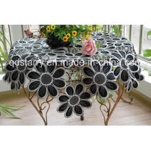 Black Color Table Cloth St1760